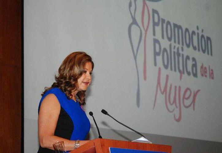 Guadalupe Suárez Ponce: la reforma político-electoral ya establece que haya un 50% de mujeres para candidaturas. (starmedia.com/Foto de archivo)