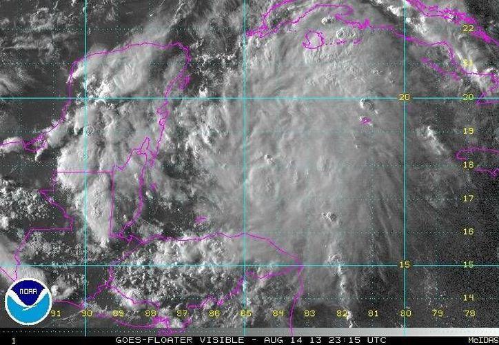 Se esperan para los siguientes días fuertes lluvias de 20mm a 50mm. (Cortesía)