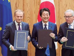 Japan and EU sign historical trade deal