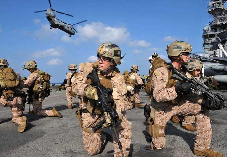 El contingente, que estaría estacionado en la base aérea Enrique Soto Cano de Palmerola, Comayagua, en el centro de Honduras. (laprensa.hn)