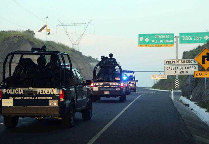 Jesús Tapia Sánchez, alias El Zanate, detenido este sábado, está relacionado con la muerte de 12 policías federales. La imagen es de contexto. (Archivo/NTX)