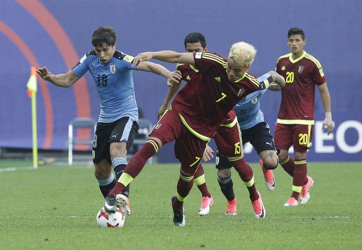 Venezuela enfrentará a Inglaterra en la final del domingo en Suwon. (Foto: AP)