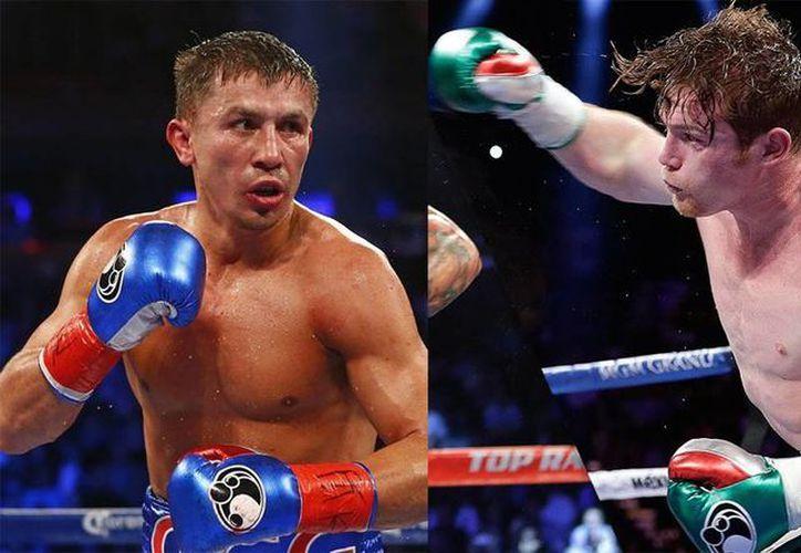 Esta vez parece que sí se concretará la pelea entre Gennady Golovkin y el mexicano 'Canelo' Álvarez. (AP)
