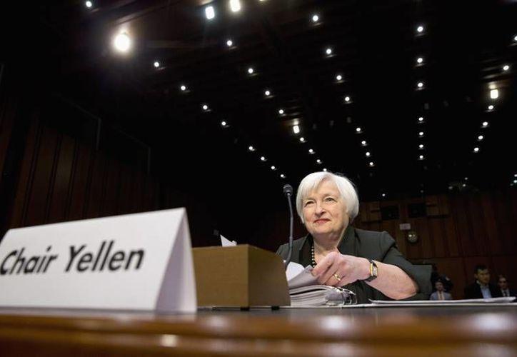 Janet Yellen, presidenta de la Reserva Federal de Estados Unidos, en imagen de archivo. (AP)