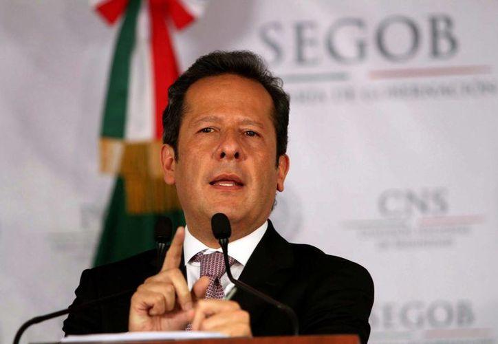 Eduardo Sánchez: entre las víctimas hay nueve menores de edad. (Notimex)