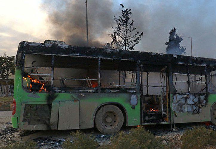 Los hechos ocurrieron en la localidad de Hassia en la provincia de Homs, en Siria. (RT)