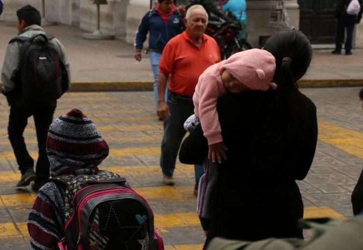 El SMN estima la prevalencia de bajas temperaturas en buena parte de la República Mexicana. (Archivo/Notimex)