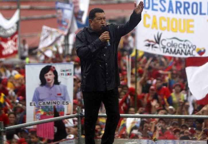 Chávez fundó el PSUV en el año 2008. (EFE/Archivo)