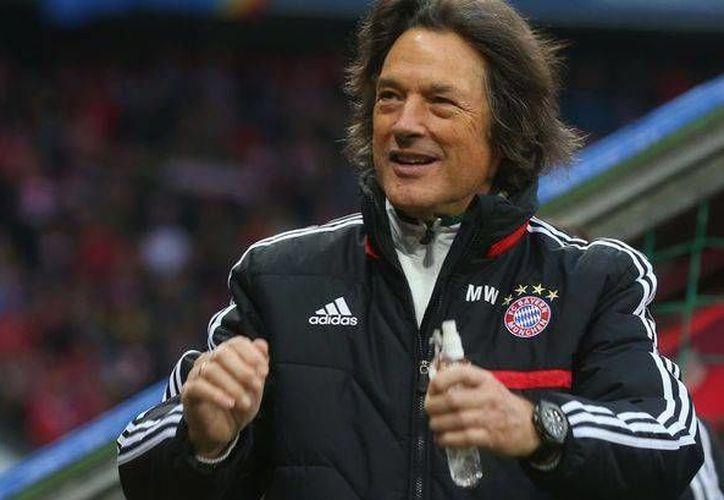 Müller-Wohlfahrt, exmédico del Bayern Múnich desde hace unos días tras la derrota por 3-1 de Bayern ante Porto en la Liga de Campeones de Europa. (mirror.co.uk)
