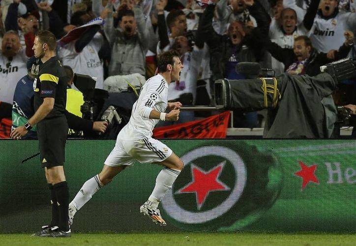 El delantero galés Gareth Bale es una garantía para el Real Madrid, según el presidente del club, Florentino Pérez. (AP/Archivo)