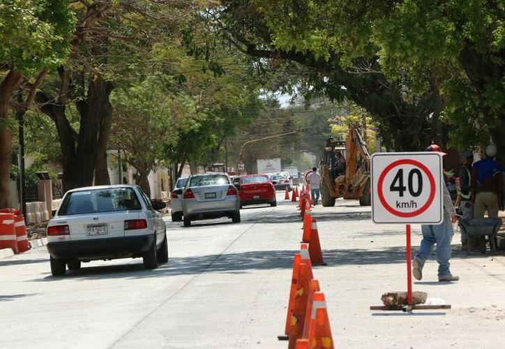 En la Avenida Colón ya fue reabierto un carril. (Archivo/Milenio Novedades)