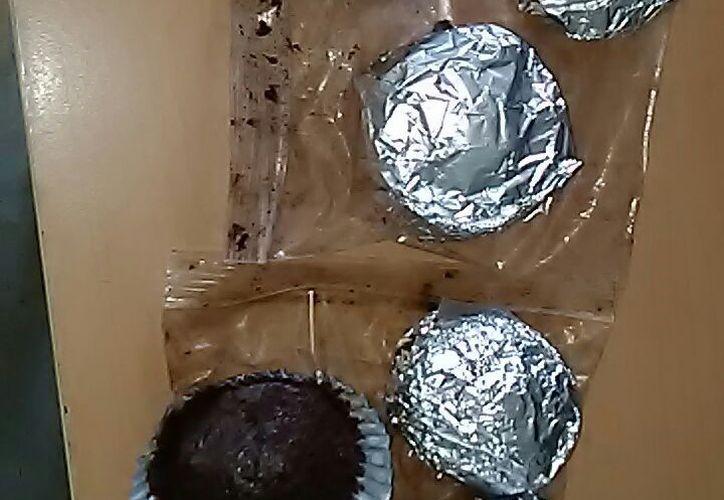 En empresa de paqueteria de Mérida, la decomisan pastelitos elaborados con marihuana (SIPSE)