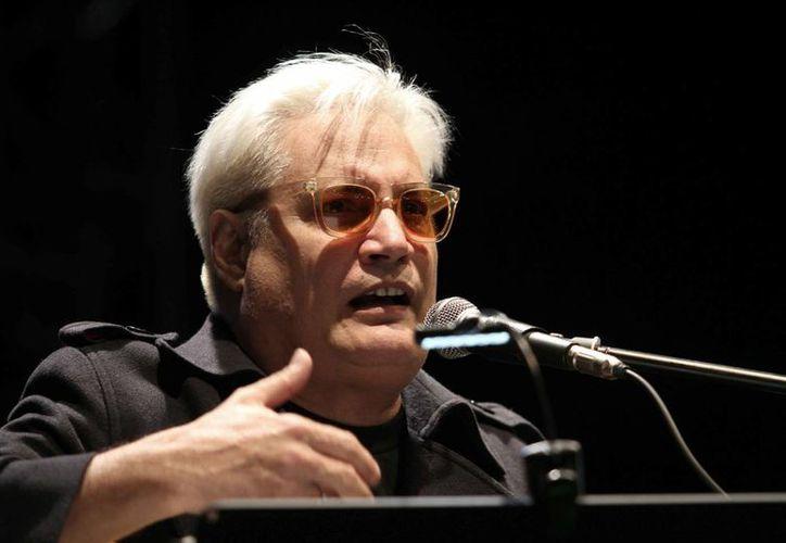 Amaury Pérez, junto con Pablo Milanés y Silvio Rodríguez, es considerado un ícono de la trova cubana. (Archivo/Notimex)