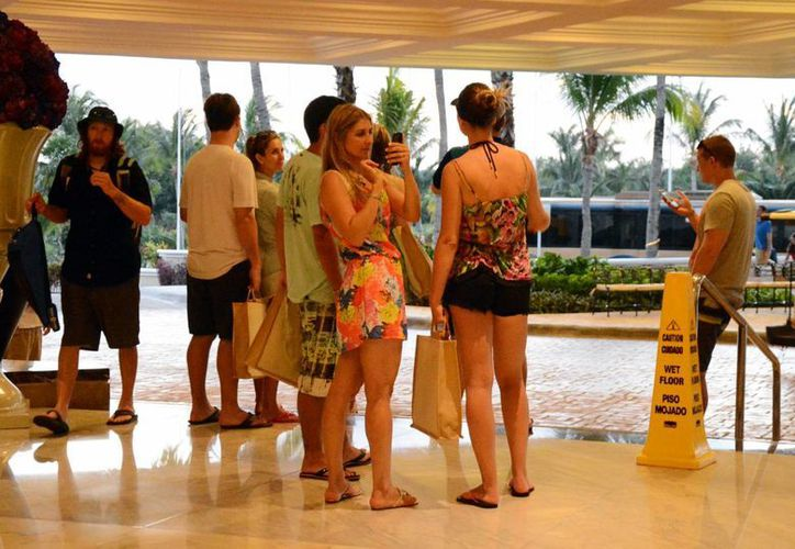 Los eventos mantienen con buena ocupación el hotel. (Luis Soto/SIPSE)