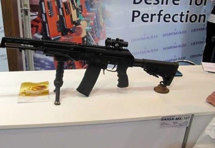 Las carabinas Saiga-MK107 se fabrican para su uso con los cartuchos .223 Remington. (thetruthaboutguns.com)