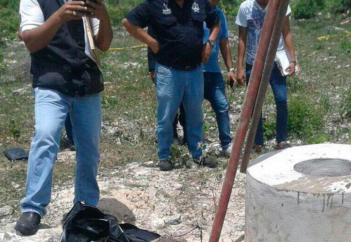 El cadáver de una persona desconocida fue hallado en el fondo de un pozo, en Tetiz. (SIPSE)