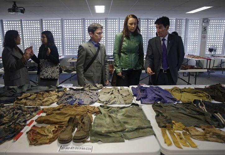 Los cadáveres de las víctimas fueron exhumados entre 2005 y 2009, aunque solo se ha identificado a tres de ellas. (AP)