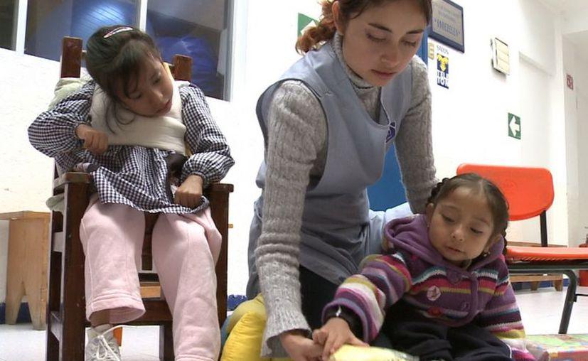 La Asociación pro Personas con Parálisis Cerebral brinda educación básica a niños y jóvenes con esta discapacidad (Archivo Notimex)