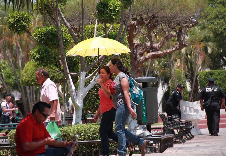 El calor intenso continuará este fin de semana en Yucatán, de acuerdo a la Conagua. (Jorge Acosta/Milenio Novedades)