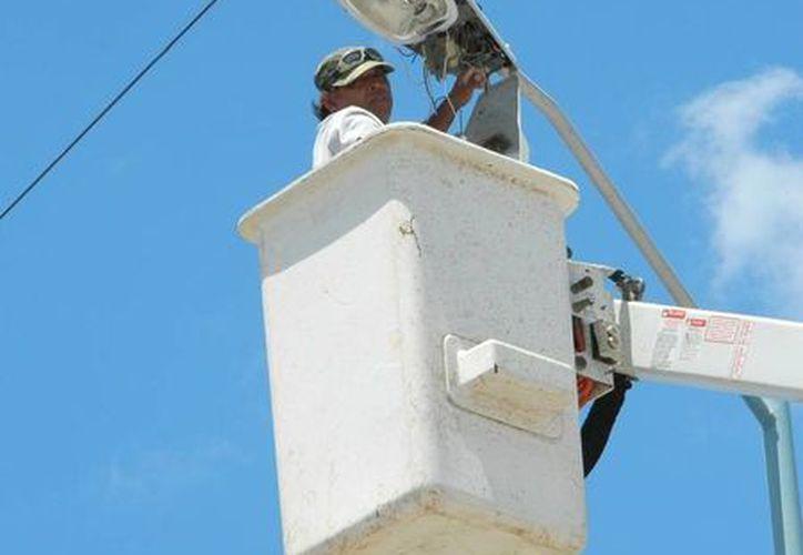Personal de Servicios Públicos realizó los trabajos. (Raúl Balam/SIPSE)