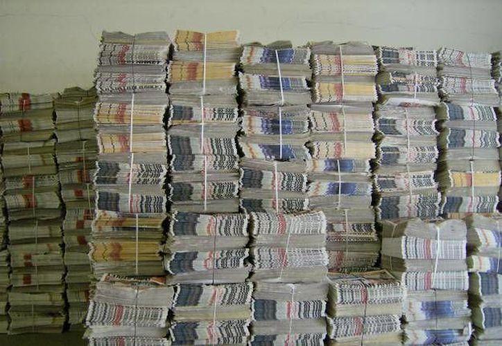 El periódico es una buena opción, ya que puede recolectarse fácilmente, señala. (ventanapublica.com)