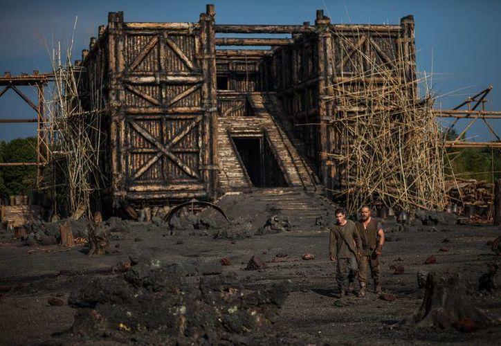 """Tras la controversia generada con cristianos conservadores en EU, Paramount Pictures tuvo que agregar a los promocionales de 'Noé' la leyenda: """"se ha tomado una licencia artística"""" en el relato de la historia. (Agencias)"""