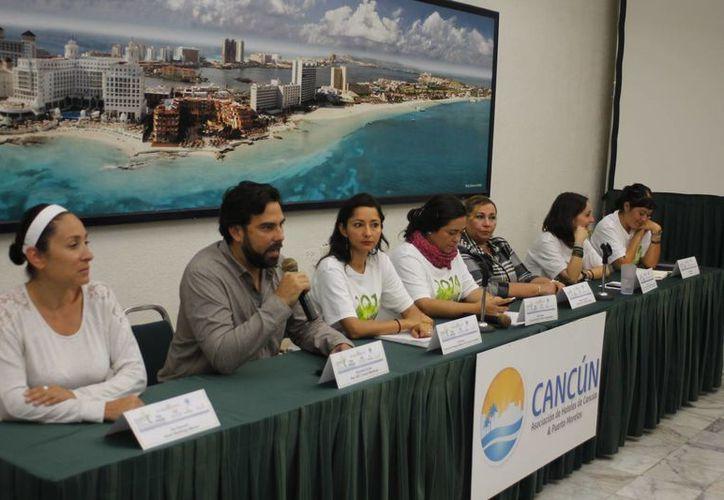 En conferencia de prensa se anunció la realización de la Expo Turismo Sustentable y se dieron a conocer los resultados del programa federal. (Israel Leal/SIPSE)