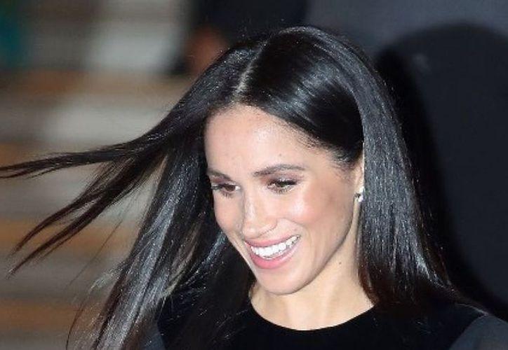 La duquesa de Sussex no se ha pronunciado sobre la imagen. (AFP)