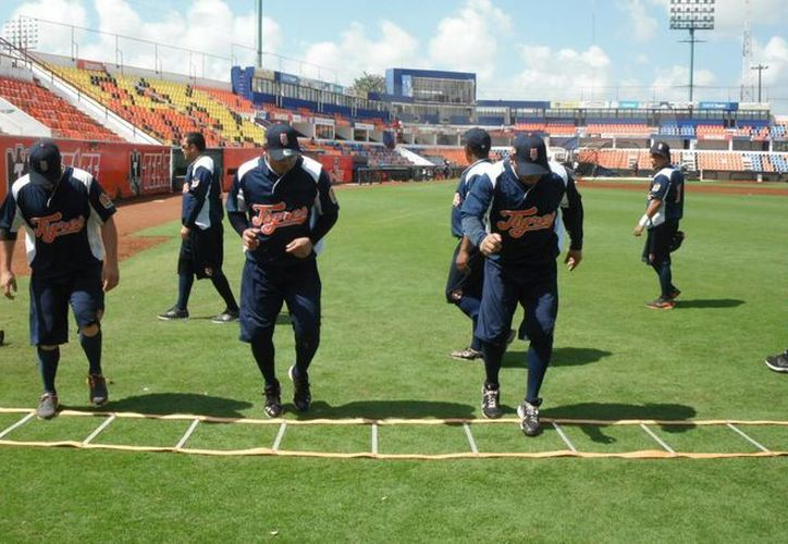 Tigres se alista para los juegos de exhibición. (Redacción/SIPSE)