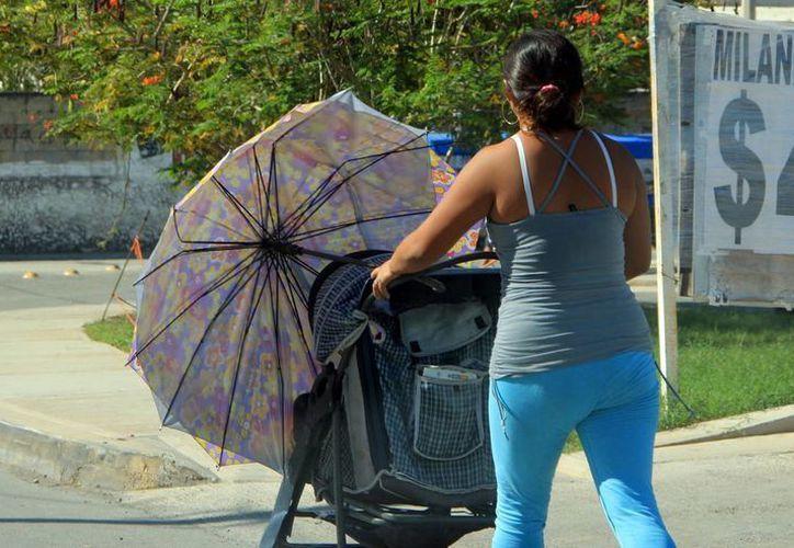 El calor seguirá acompañando a los yucatecos en estos días. (José Acosta/SIPSE)