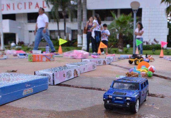 Hoy se realizará en el estacionamiento de Sams Club el noveno Kilómetro del Juguete. (Gustavo Villegas/SIPSE)