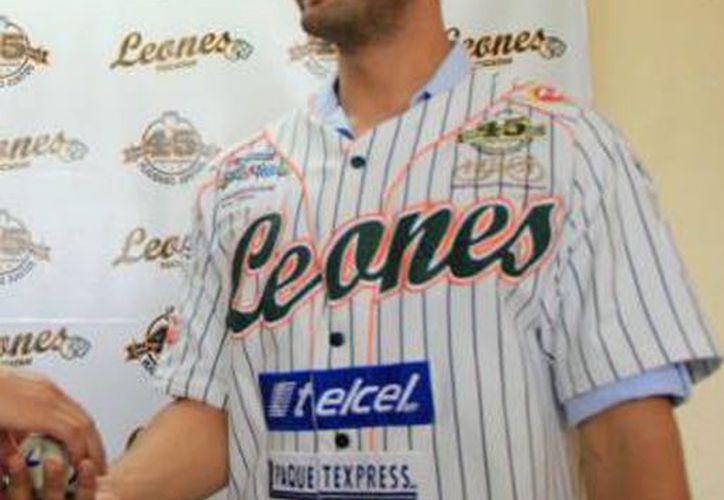 James Avery dice adiós a Leones de Yucatán. (Milenio Novedades)