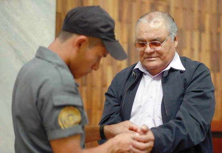 El juicio es contra Pedro García Arredondo, exjefe policial de investigaciones de la Policía Nacional, quien es el único acusado en el hecho. (lanacion.com.gt)
