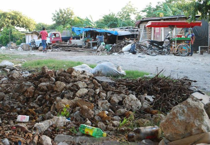 Los asentamientos irregulares se encuentran en la mira de las autoridades para instrumentar las acciones de la cruzada contra el hambre. (Tomás Álvarez/SIPSE)
