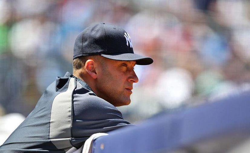 """""""Siempre me dije que cuando el béisbol empezara a sentirse como un trabajo, entonces era el momento de hacer otra cosa"""", dijo Derek Jeter, en su 'carta' de retiro. (danny-wild.com)"""