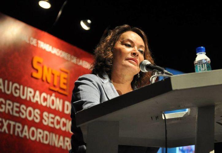 Elba Esther Gordillo fue detenida el 26 de febrero. (Archivo/Notimex)