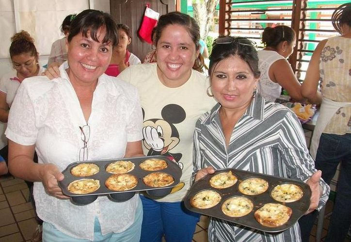 Entre los cursos ofrecidos destacan panadería, pastelería, inglés básico y elaboración de piñatas. (Redacción/SIPSE)
