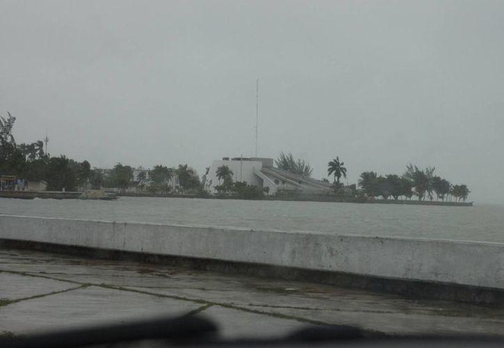 La temporada de huracanes ha estado en lo que cabe tranquila. (Harold Alcocer/SIPSE)