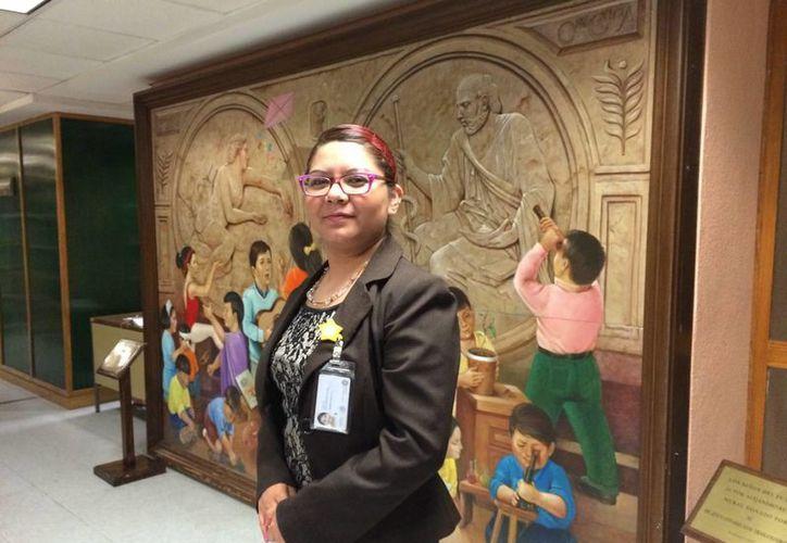 Araceli fue la segunda de los cerca de 16 recién nacidos rescatados del terremoto del 85. (Notimex)