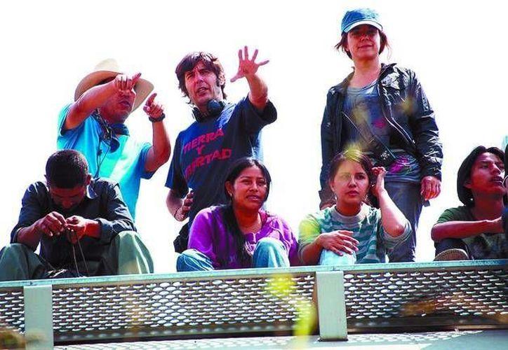 """Diego Quemada-Díez (c) es el director de """"La Jaula de Oro"""". (diariodeburgos.es/Archivo)"""
