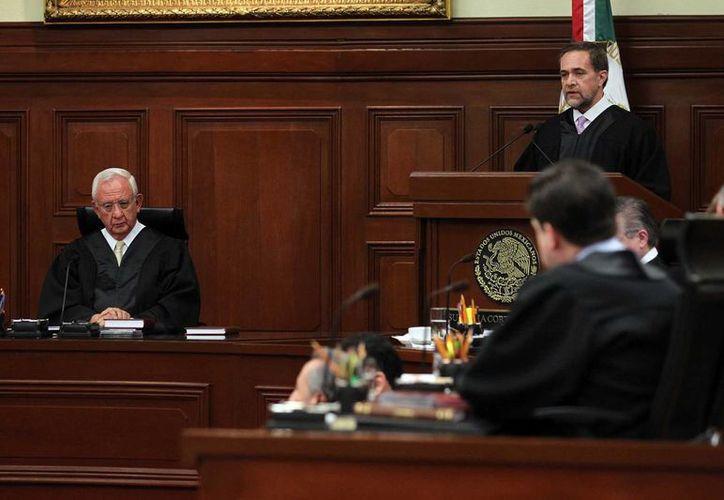 La SCJN creó una comisión para que analice 53 juicios de amparo contra la reforma laboral. (Notimex)