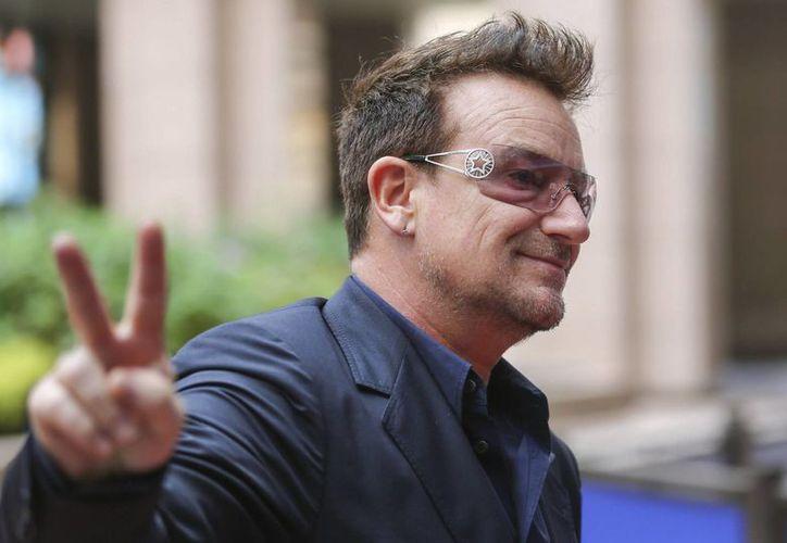 El cantante irlandés del grupo U2, Bono. (EFE/Archivo)