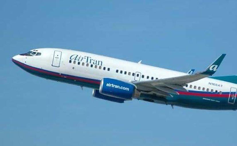 Southwest volará a Cancún con aviones de su otra marca: Airtran. (Internet)