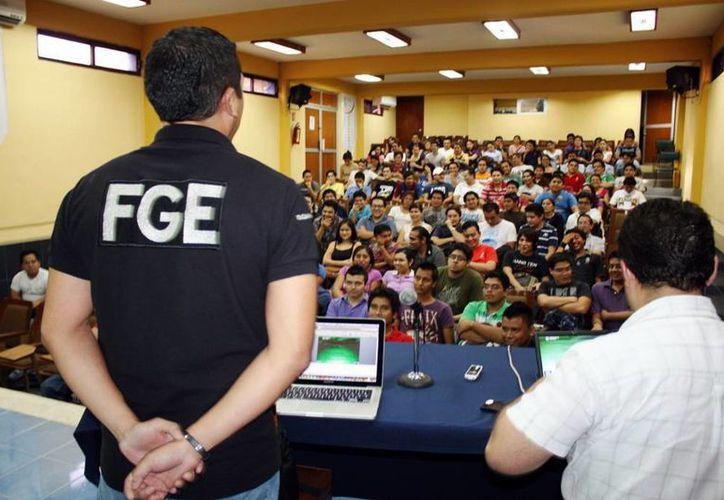 En lo que va del año la Unidad Especializada en Delitos Cibernéticos de la Fiscalía General del Estado de Yucatán ha ofrecido 30 pláticas. (Milenio Novedades)