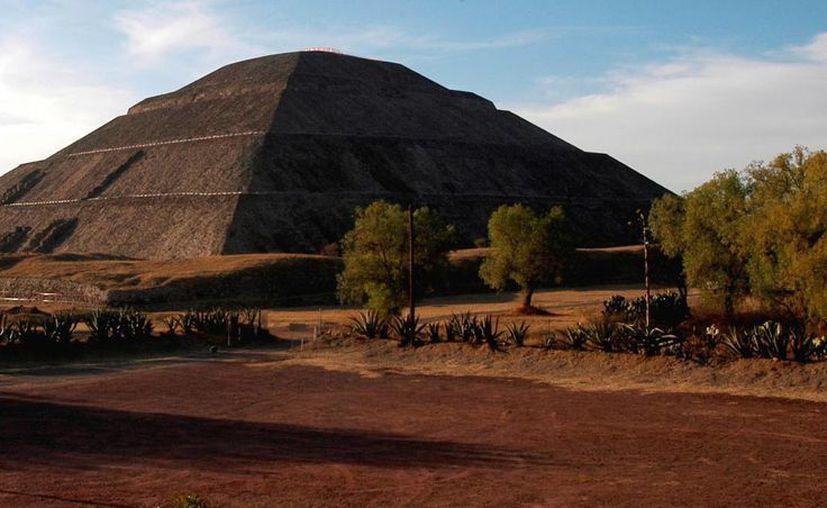 La pirámide del Sol está ligada al calendario ritual, no a equinoccios. (Notimex)