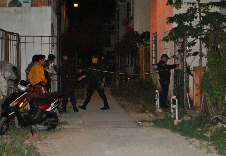 El primer ejecutado se reportó en la madrugada, en Villas Otoch Paraíso. (Redacción/SIPSE)