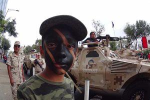 Desfile cívico militar, en el DF