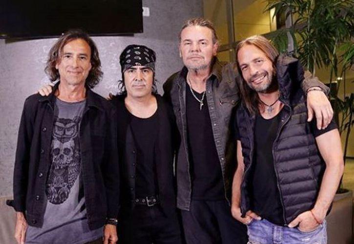 """Fher, vocalista de la banda, agradeció en nombre de sus compañeros el """"inesperado reconocimiento''. (Instagram)"""