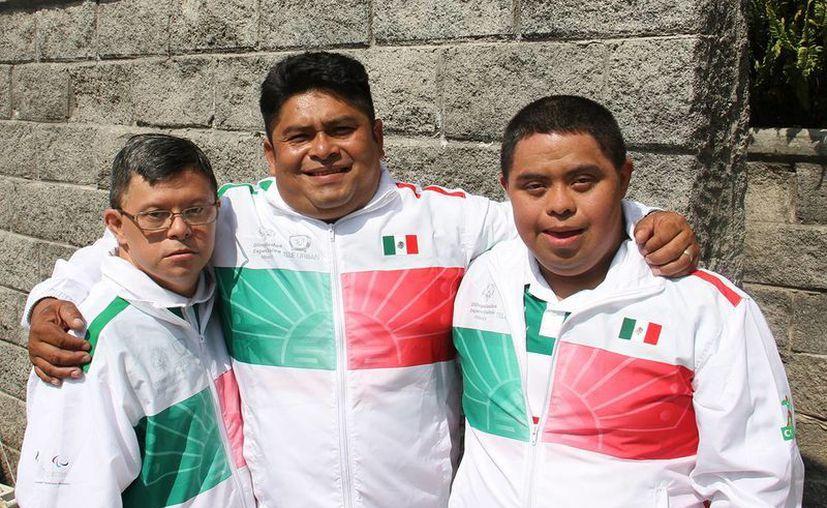 El pesista yucateco Juan Manuel Aguilar afronta un duro desafió en las olimpiadas Especiales. (SIPSE)