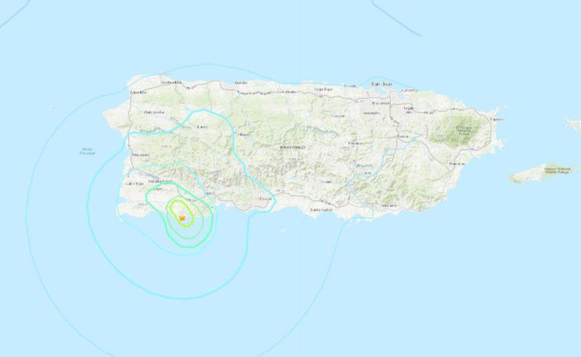 Captura de pantalla: Earthquake.usgs.